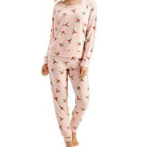 NEW! Jenni Scrunchie & Pajamas 3pc Pajama Set
